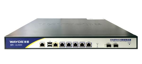 LQ-6000万兆多WAN口行为管理路由器